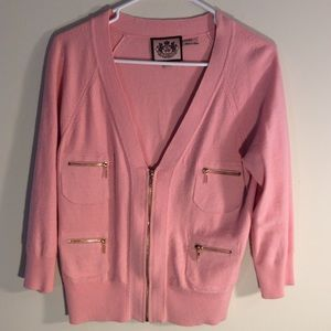 Women's Juicy Couture Sweater Pink Size Medium